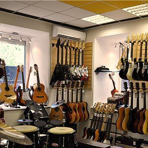 Музыкальные магазины Солнечнодольска